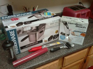 Kitchen Gadgets as Christmas gifts