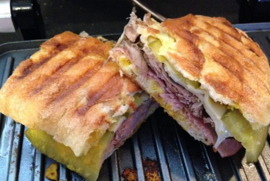 pressed cuban sandwich