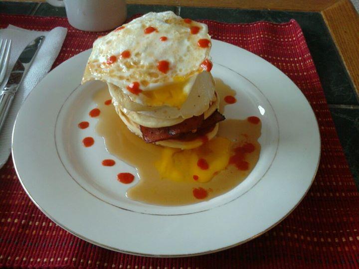 Souped Up Short Stack Pancake Sandwich